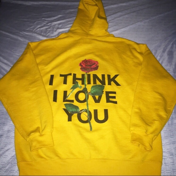 9394dad8 Champion Sweaters | Yourstruly I Think I Love You Phora Merch Hoodie ...